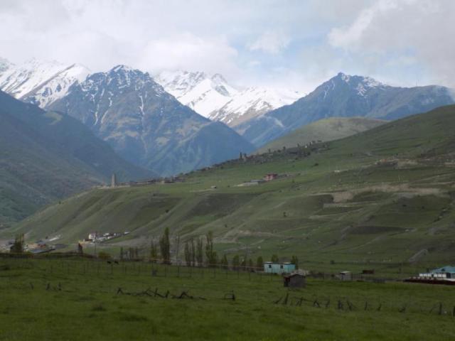 Долина реки Фиагдон